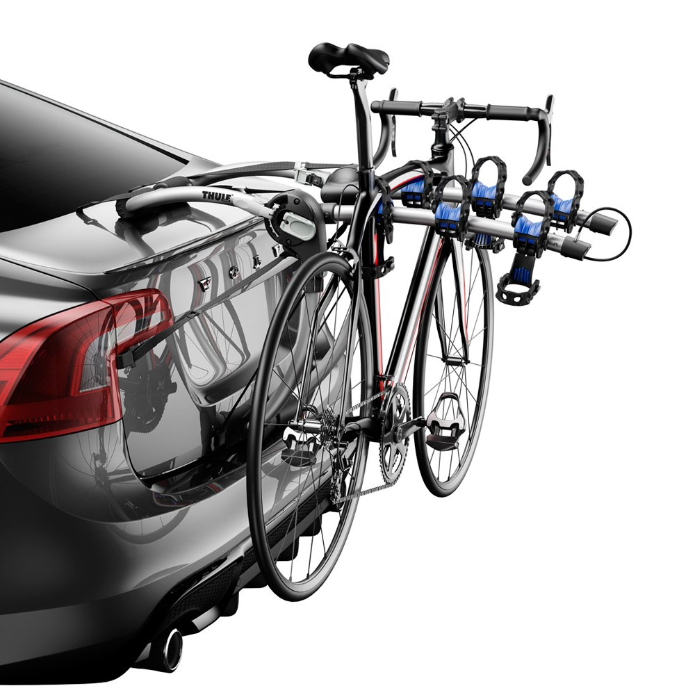Archway Trunk Mount Bike Rack For 3 Bikes