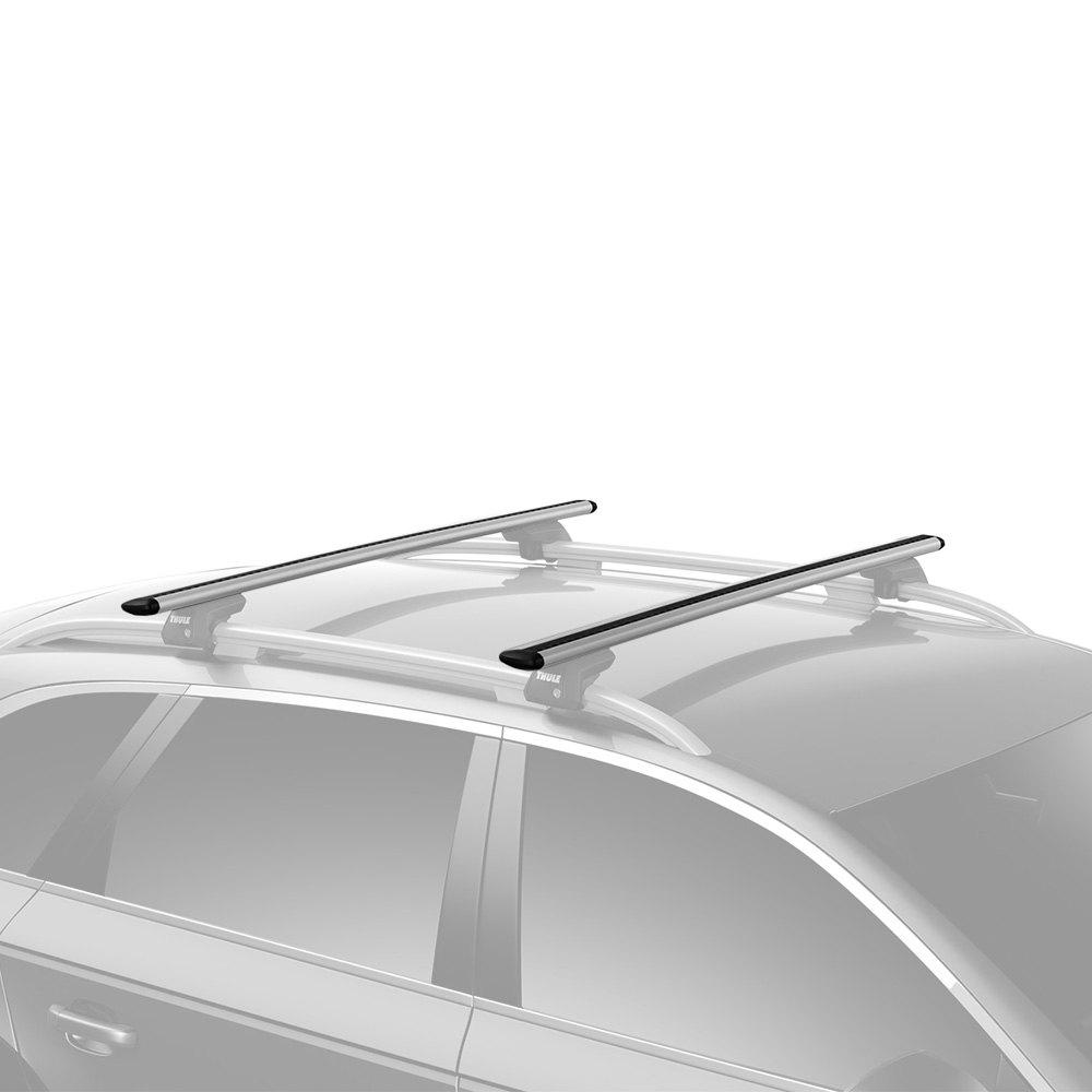 Silver Thule 711200 Roof Racks Set of 2