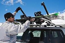 Thule® - Ski and Snowboard Rack