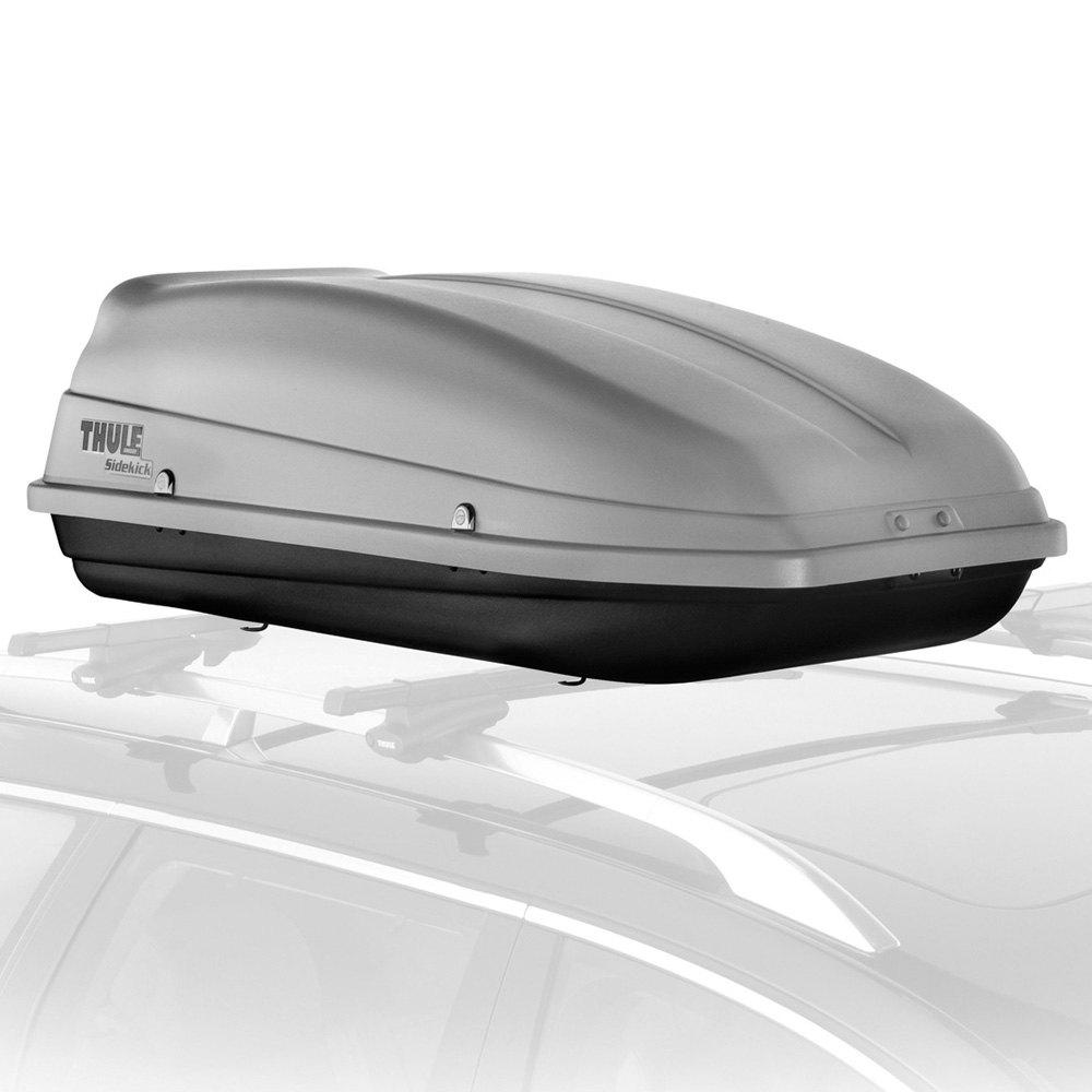 thule audi q5 2009 sidekick roof cargo box. Black Bedroom Furniture Sets. Home Design Ideas