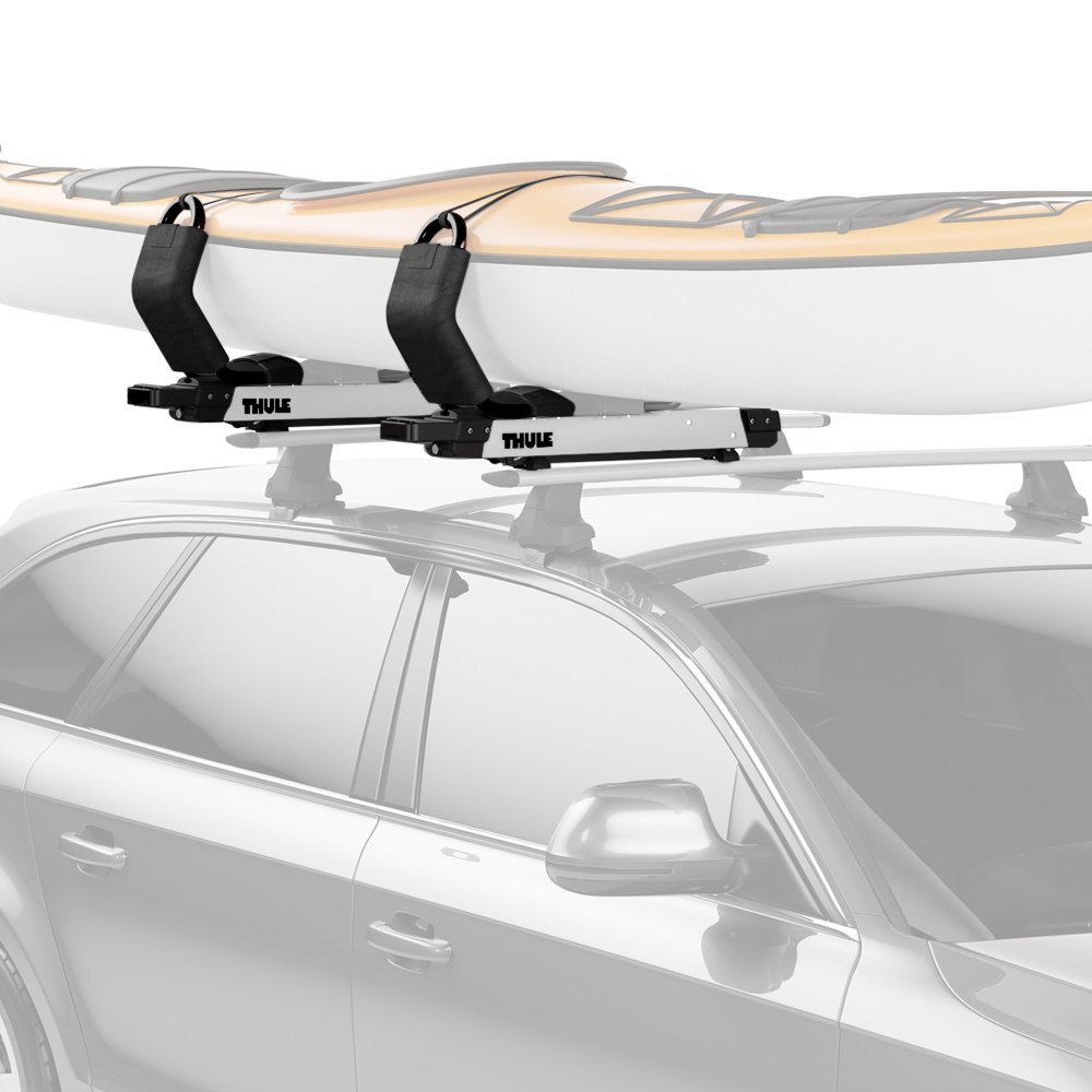 rack tandem higgee two kayak double roof thule of