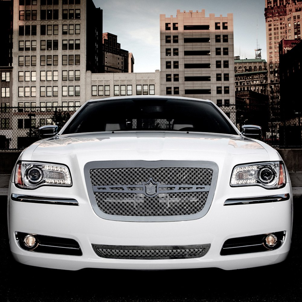 Chrysler 300 2012-2014 Chrome Luxury Mesh Grille Kit