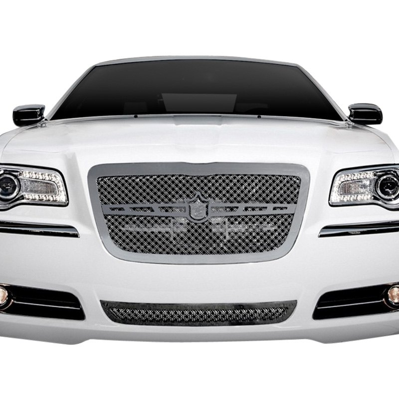 For Chrysler 300 10-14 Grille Kit 2-Pc Luxury Series