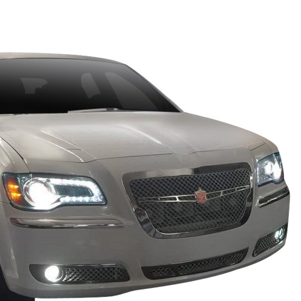 Chrysler 300 2012 4-Pc Luxury Series Chrome Dual