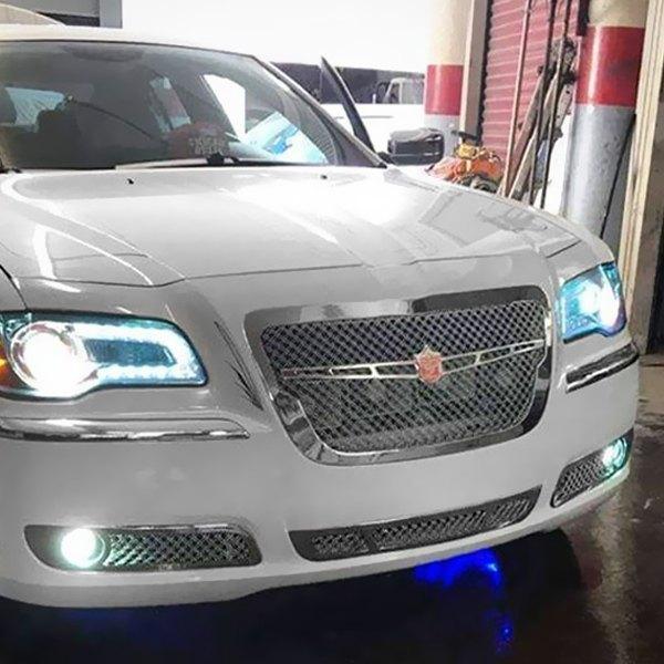 Chrysler 300 2010 4-Pc Luxury Series Chrome Dual