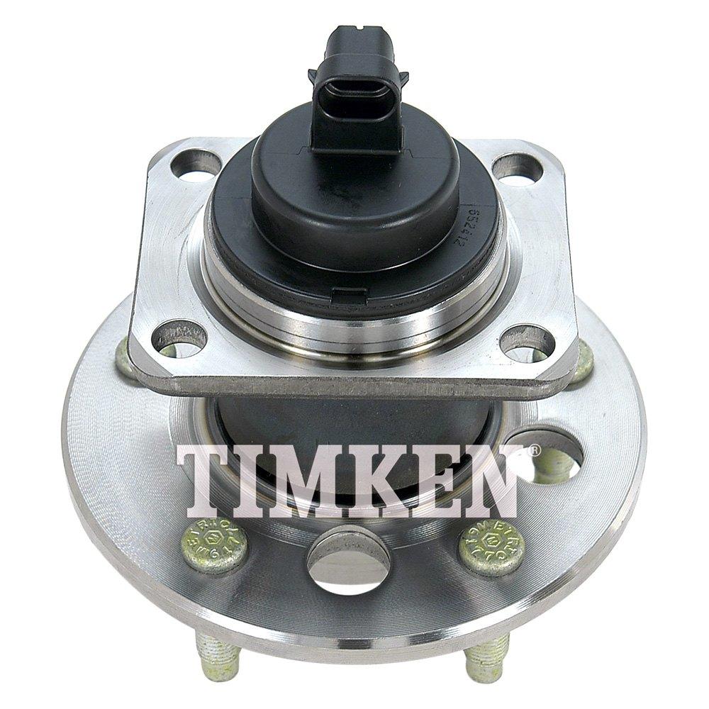 Timken® - Rear Wheel Bearing and Hub Assembly