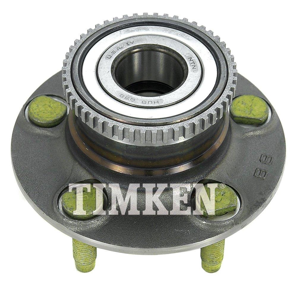 Timken 174 512163 Rear Driver Side Wheel Bearing And Hub