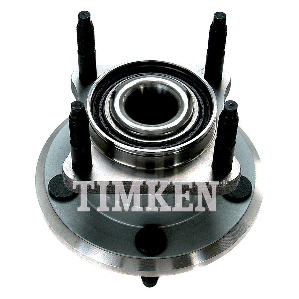 Timken 174 Ha590141 Rear Driver Side Wheel Bearing And Hub
