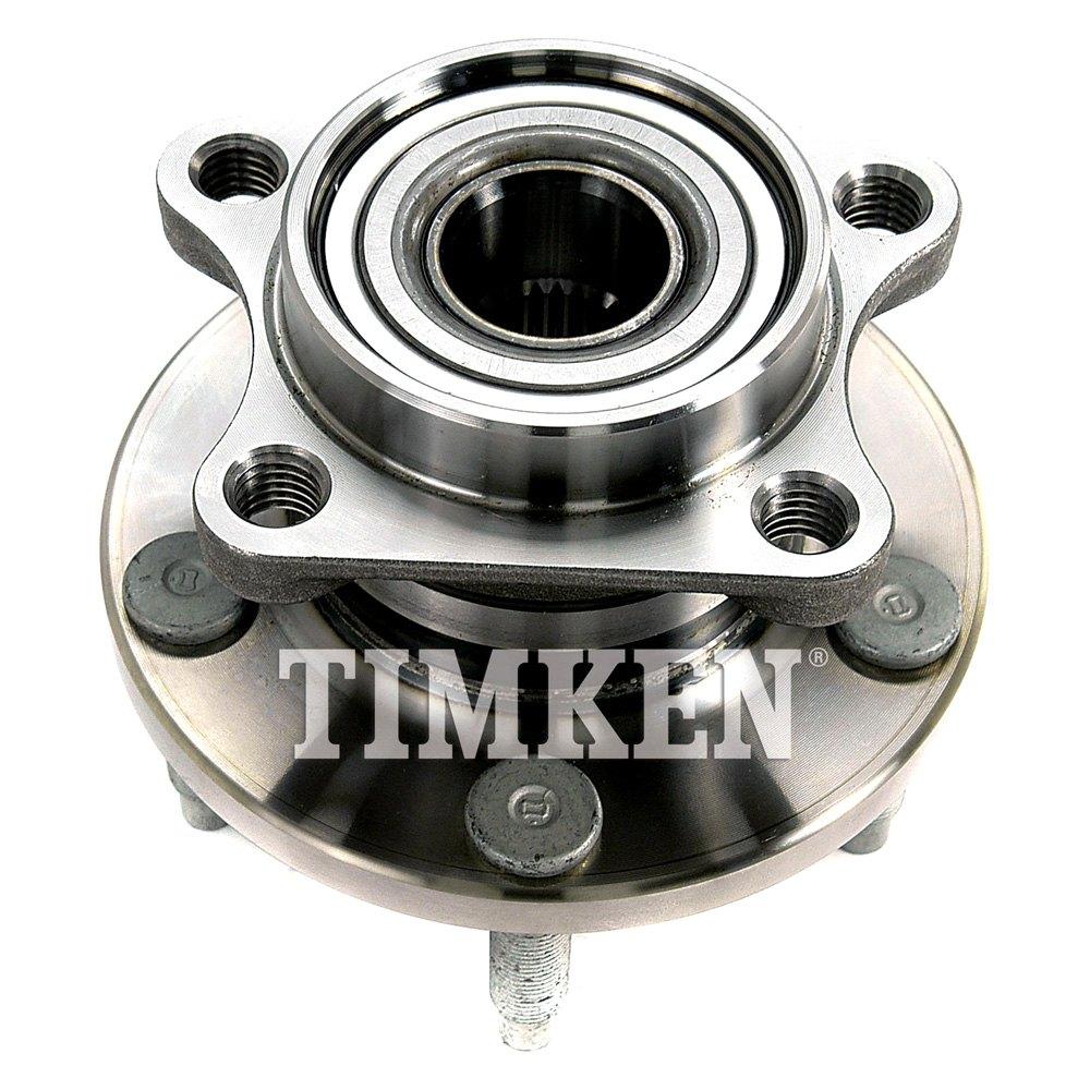 Timken Rear Wheel Bearing And Hub Assembly