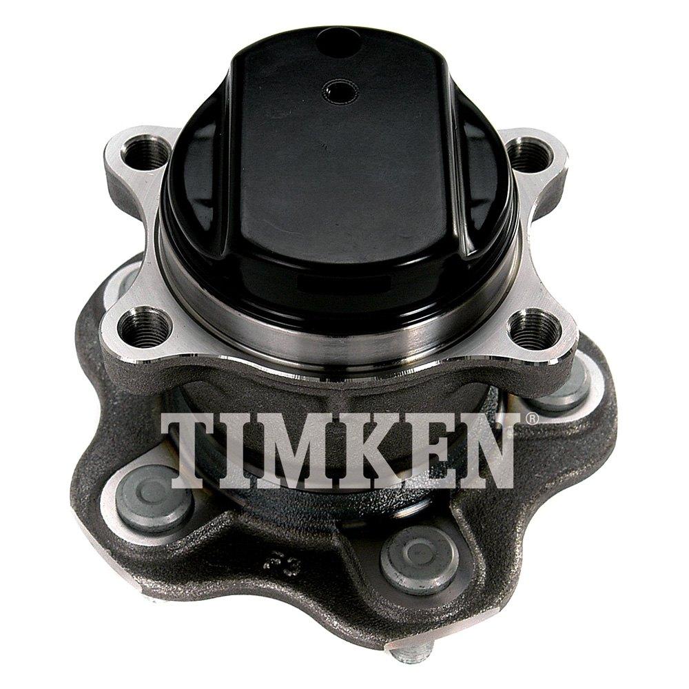 Timken 174 Ha590241 Rear Driver Side Wheel Bearing And Hub