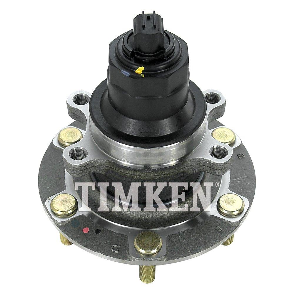 Timken 174 Ha590653 Front Passenger Side Wheel Bearing And