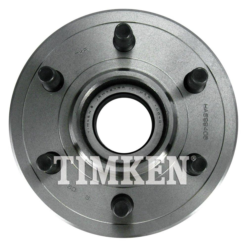 Timken 174 Ha599406 Front Passenger Side Wheel Bearing And