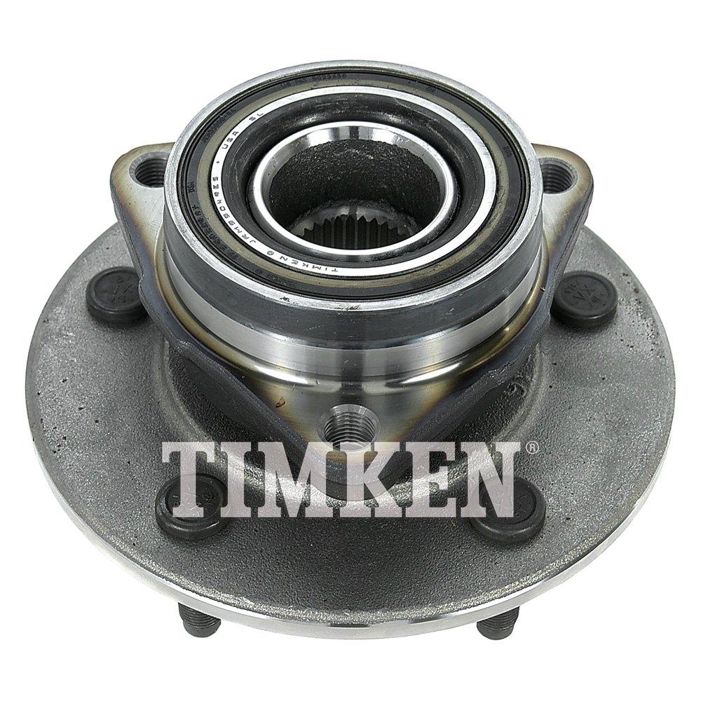 Timken 174 Ha599863 Front Driver Side Wheel Bearing And Hub