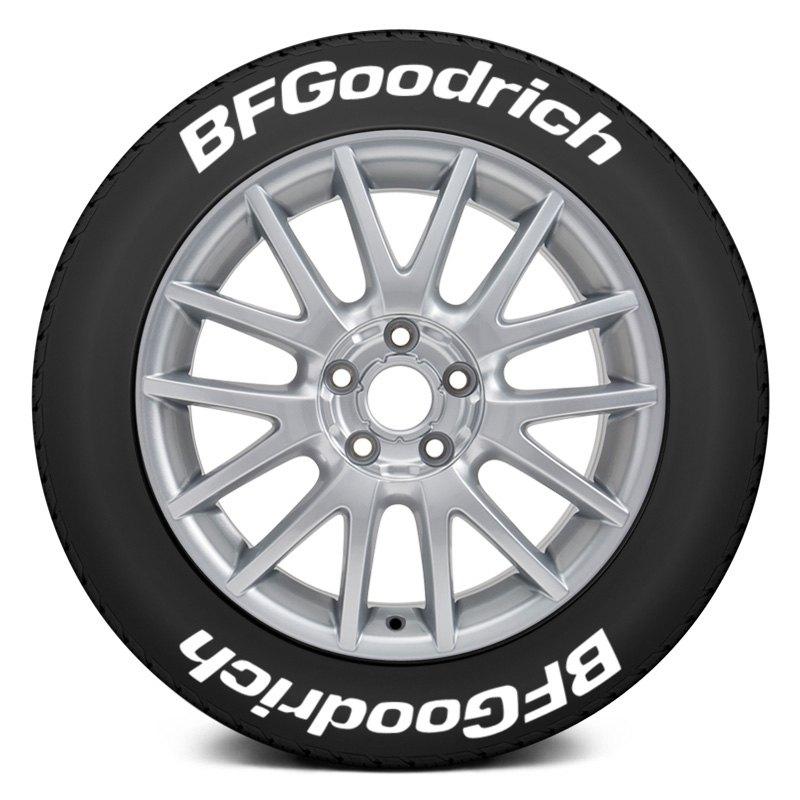 Tire Stickers Bfg 1416 15 8 W Bf Goodrich Tire Lettering Kit