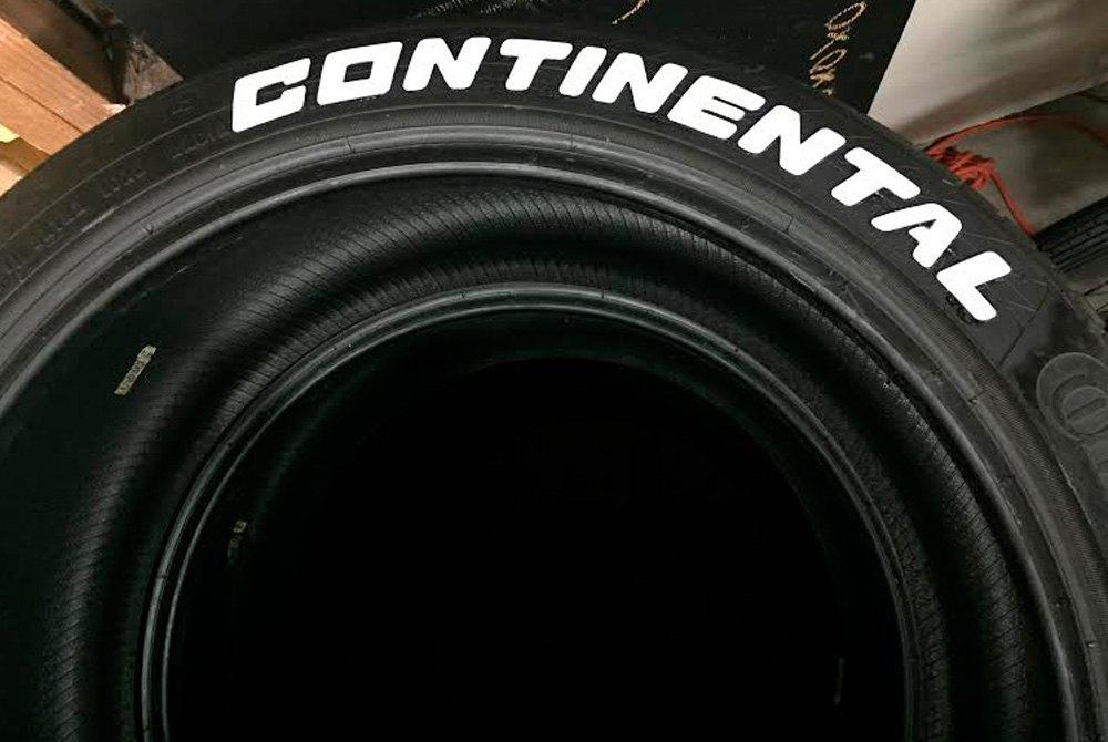 """Continental Tire Stickers >> Tire Stickers® CON-1921-75-8-W - """"Continental"""" Tire ..."""