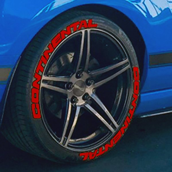 Continental Tire Stickers >> Tire Stickers Continental Tire Lettering Kit
