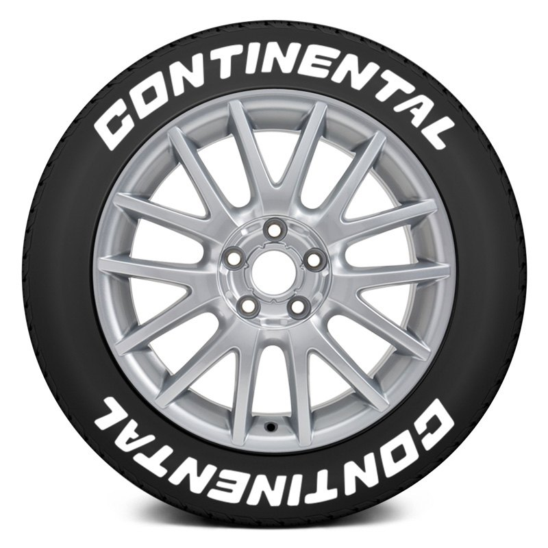 Continental Tire Stickers >> Tire Stickers Con 1416 15 8 W Continental Tire Lettering Kit