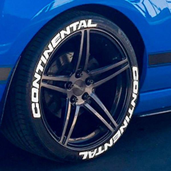 """Tire Stickers CON 1718 1 8 Y """"Continental"""" Tire"""