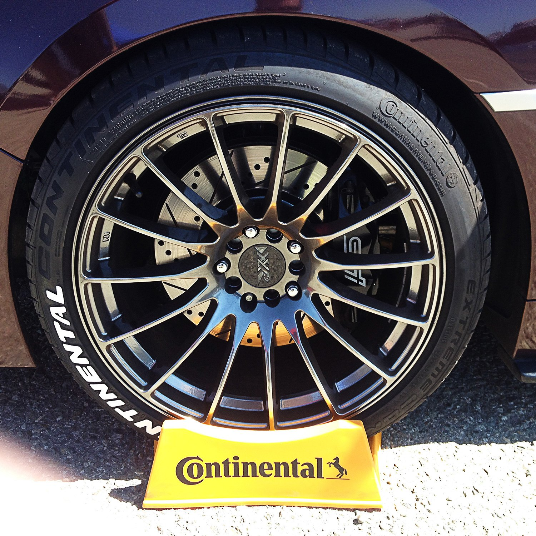 "Tire Stickers CON 1416 15 4 R ""Continental"" Tire Lettering Kit"