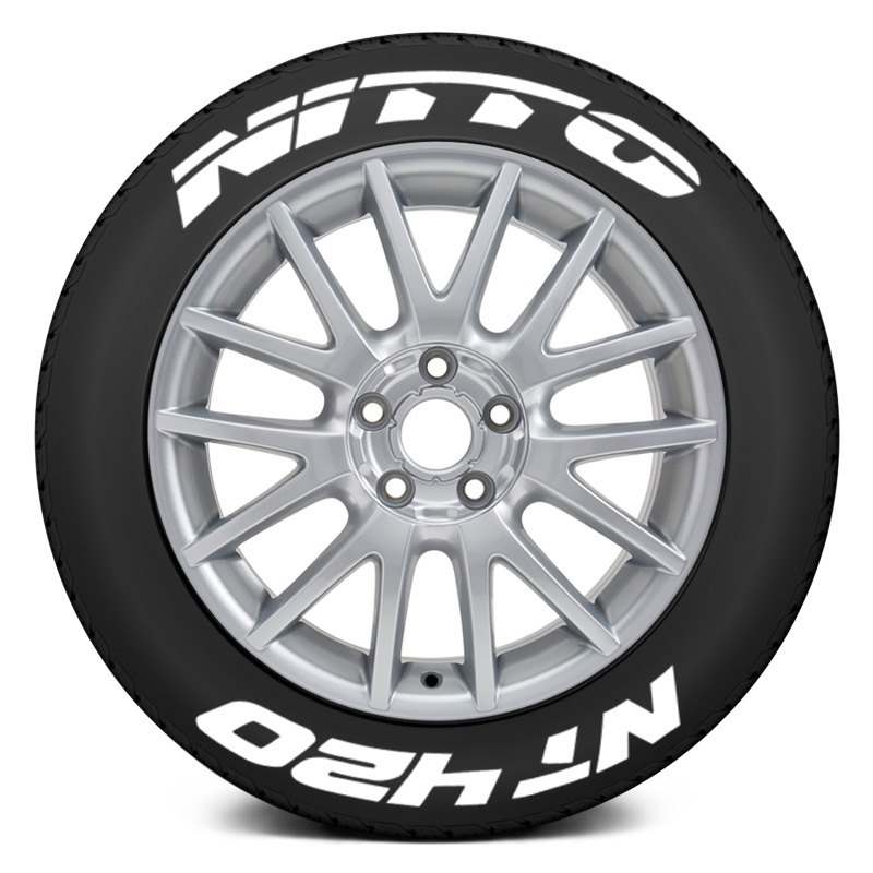 Nitto Tires With White Lettering >> Details About Tire Stickers Nit420 1921 125 4 W White Nitto Nt420 Tire Lettering Kit