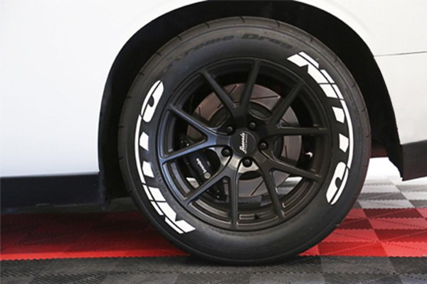 Nitto Tires With White Lettering >> Tire Stickers Nit1921 1 8 W White Nitto Tire Lettering Kit