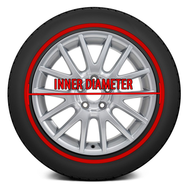 Red Line Tires >> Tire Stickers Red Vintage Red Line Full Tire Decal Kit