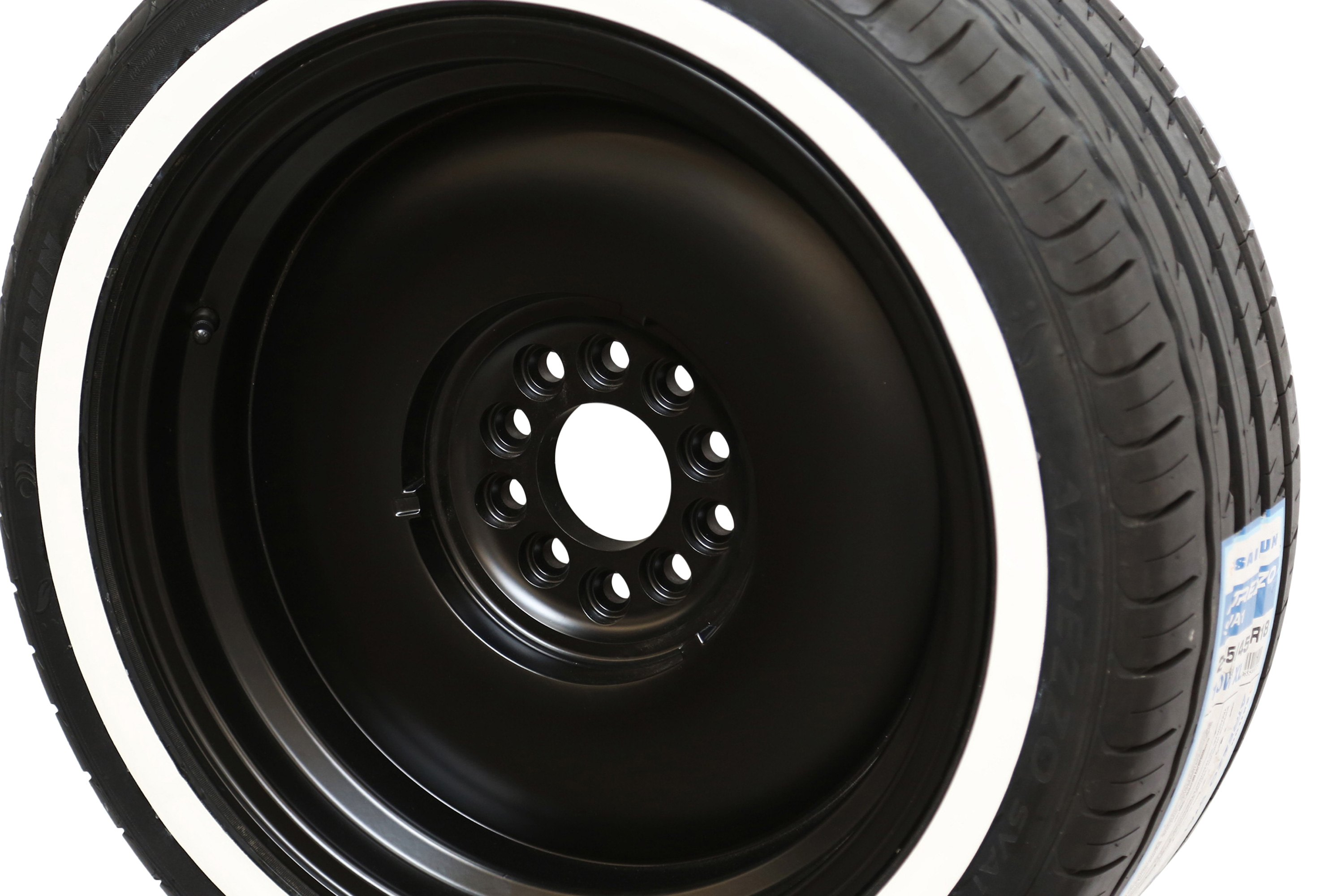 Tire Stickers White Wall Decal Kit