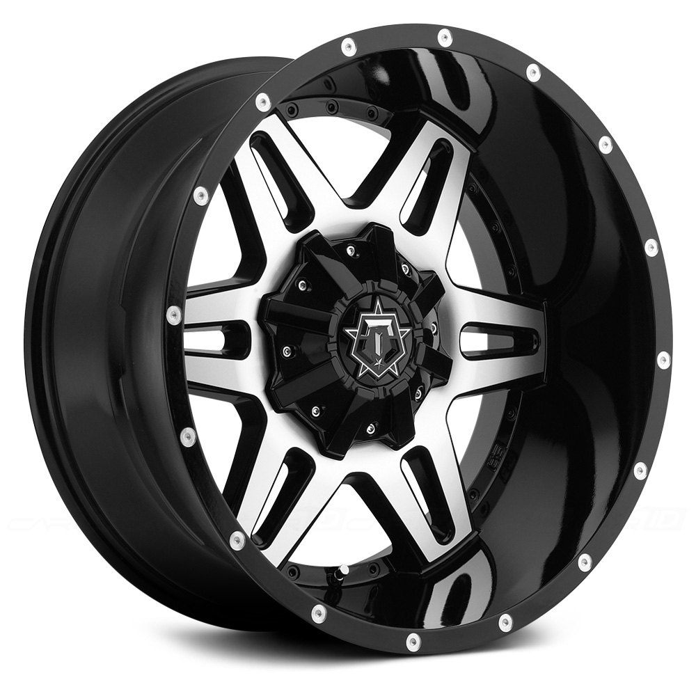 Tis 174 538mb Wheels Gloss Black With Machined Face And T