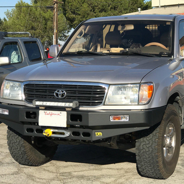 TJM 4x4® - T17 Series Full Width Front HD Black Bumper