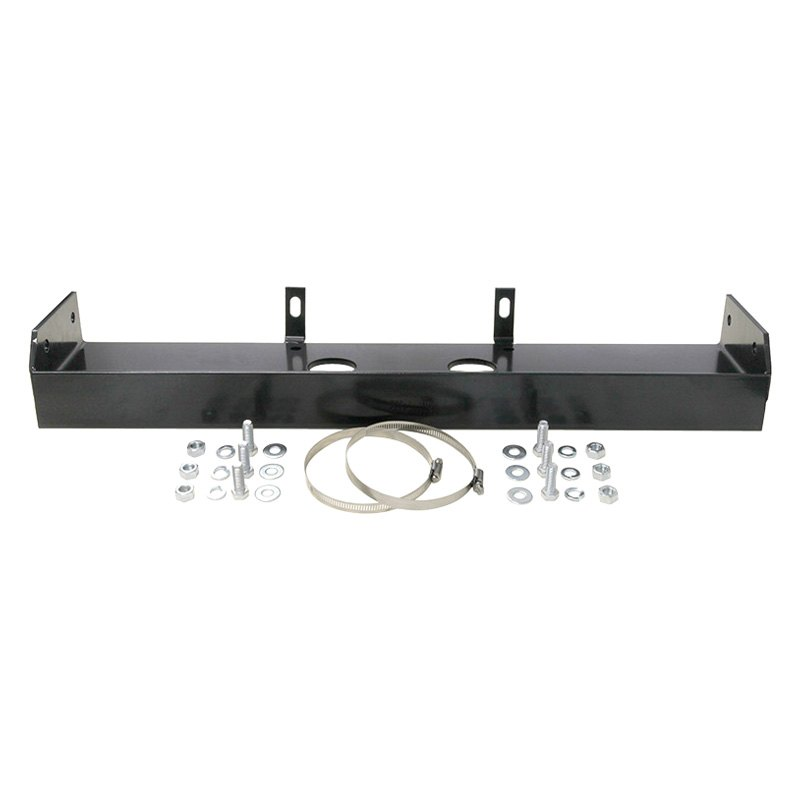 TJM 4x4® 957MTT1399M-SO - Steel Black Winch Mounting Frame