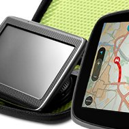 TomTom® - GPS Navigator in a Comfort Carrying Case