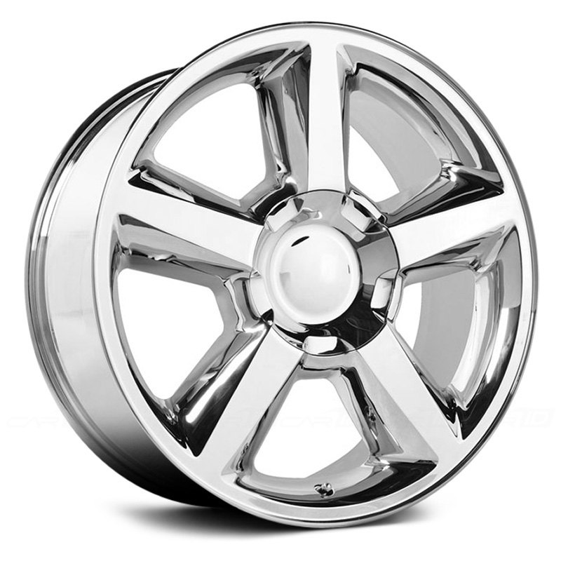 topline replicas v1164 tahoe ltz wheels chrome rims. Black Bedroom Furniture Sets. Home Design Ideas