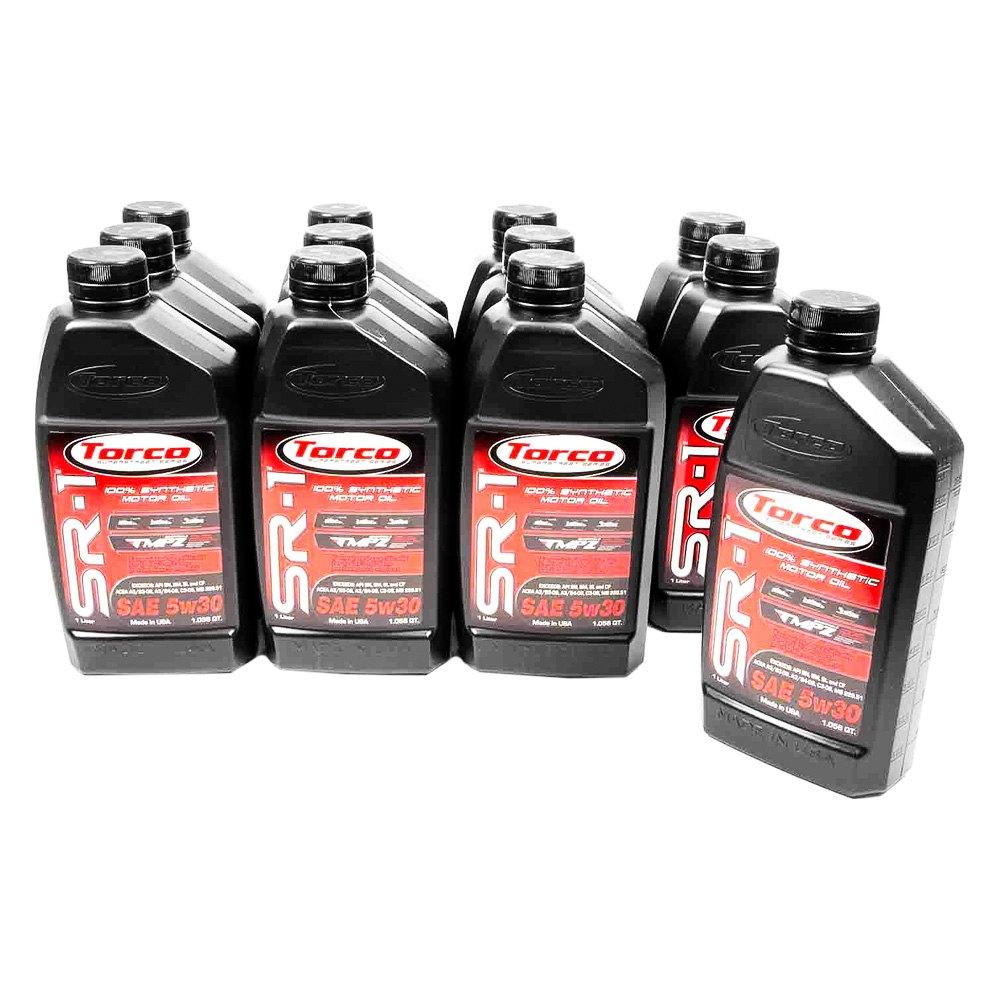 Torco Sr 1 100 Synthetic Motor Oil