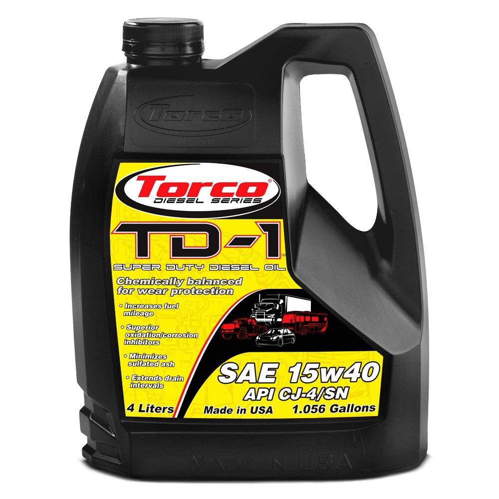 Torco Td 1 Super Diesel Motor Oil