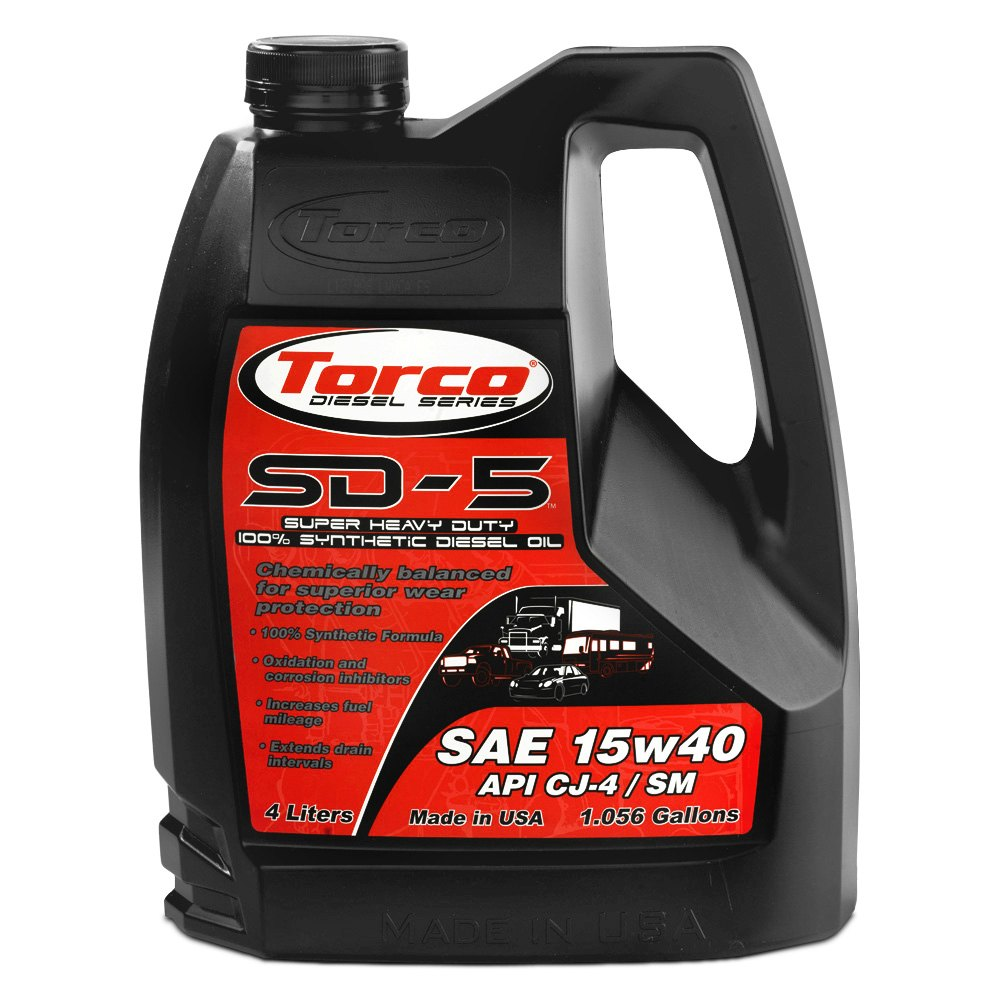 Torco sd 5 synthetic diesel motor oil for Top 5 synthetic motor oil