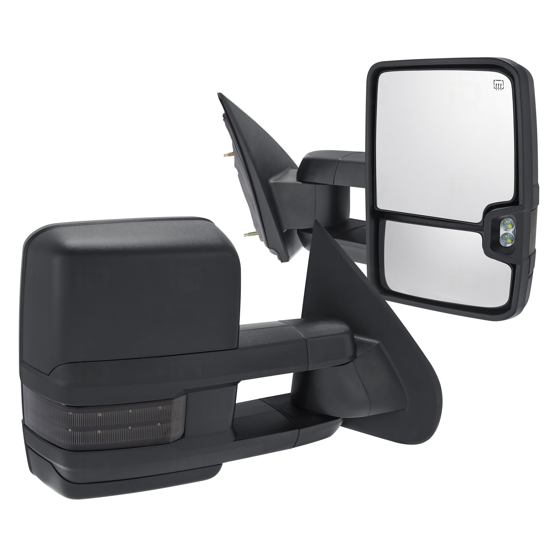 torxe chevy silverado 2016 power towing mirrors. Black Bedroom Furniture Sets. Home Design Ideas