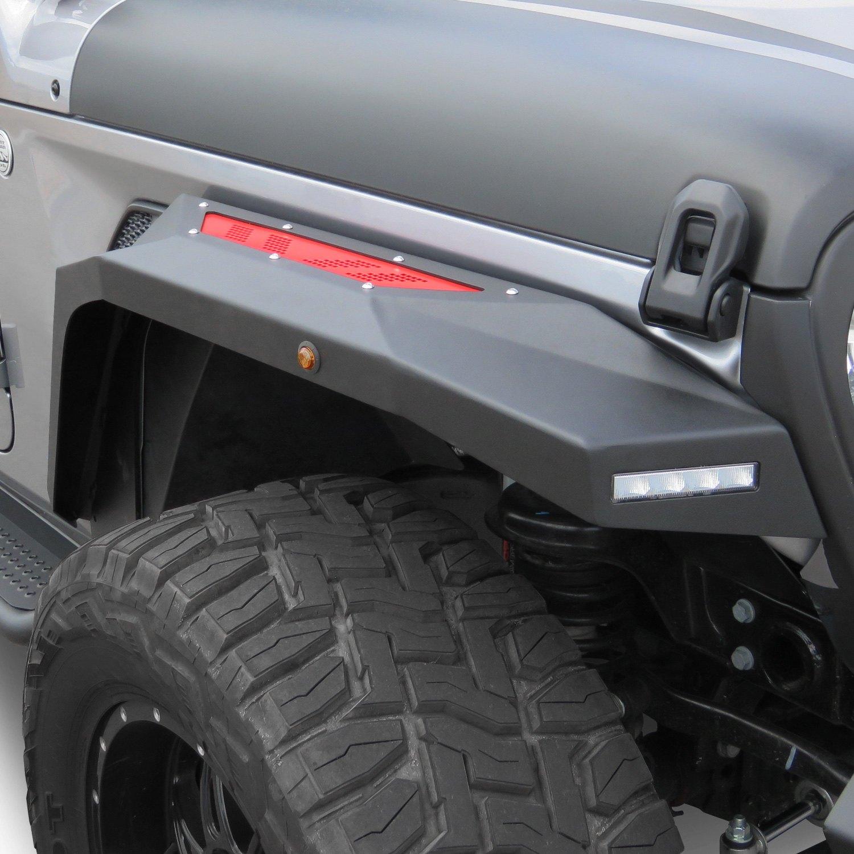 For Jeep Gladiator 2020 Torxe Vypr Jpgl11 Ff Vypr Series Front Fender Flares Ebay