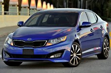 TOUREN® - TR3 Black with Machined Face and Lip on Kia Optima