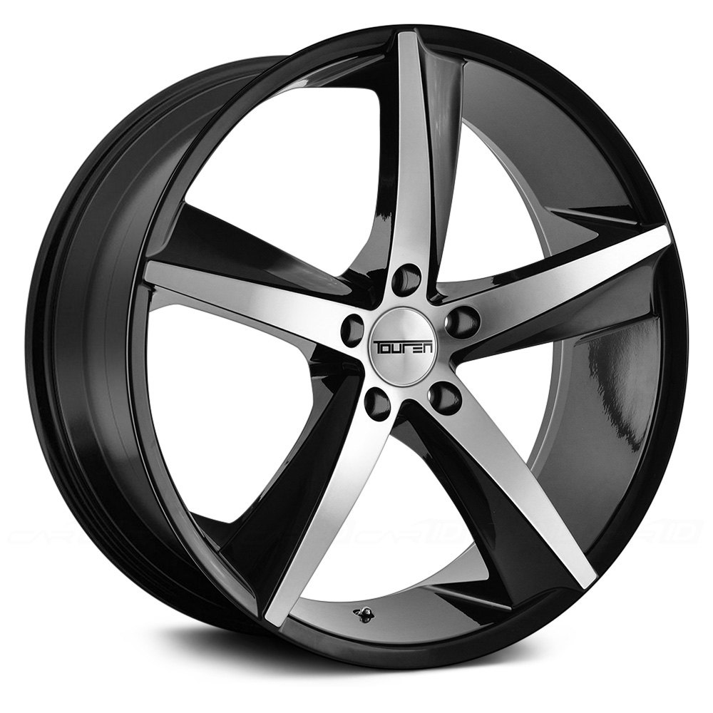 Touren 174 Tr72 3272 Wheels Gloss Black With Machined Face Rims