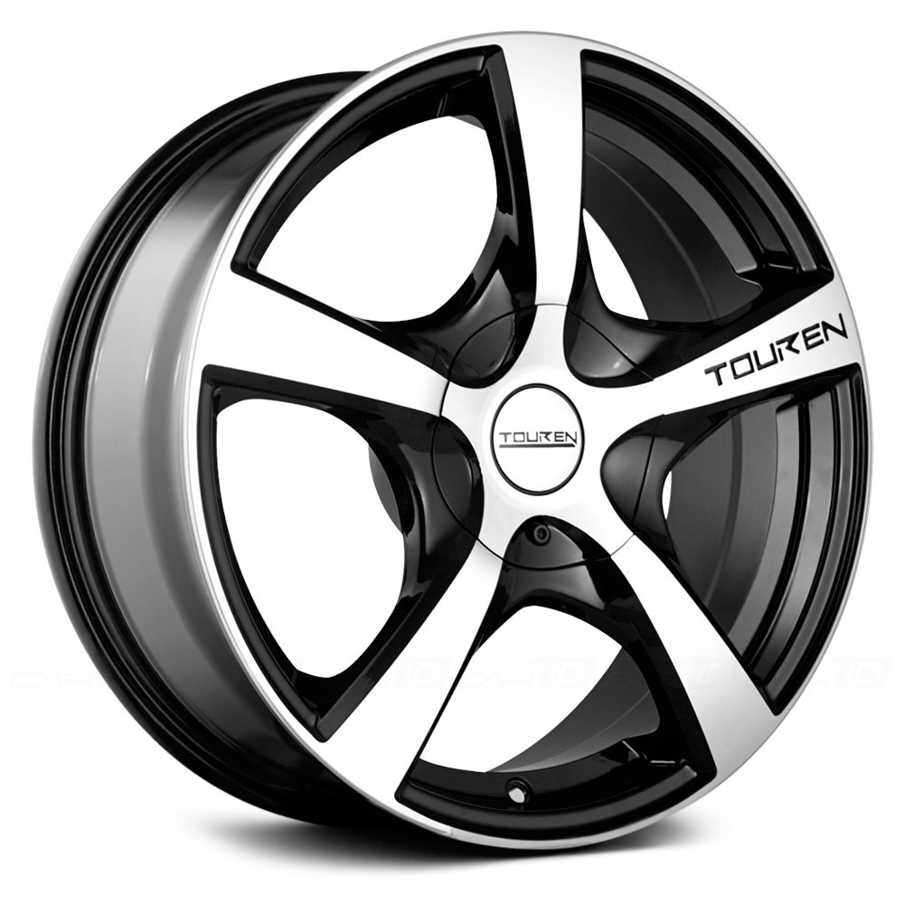touren tr9 3190 wheels black with machined face and lip rims