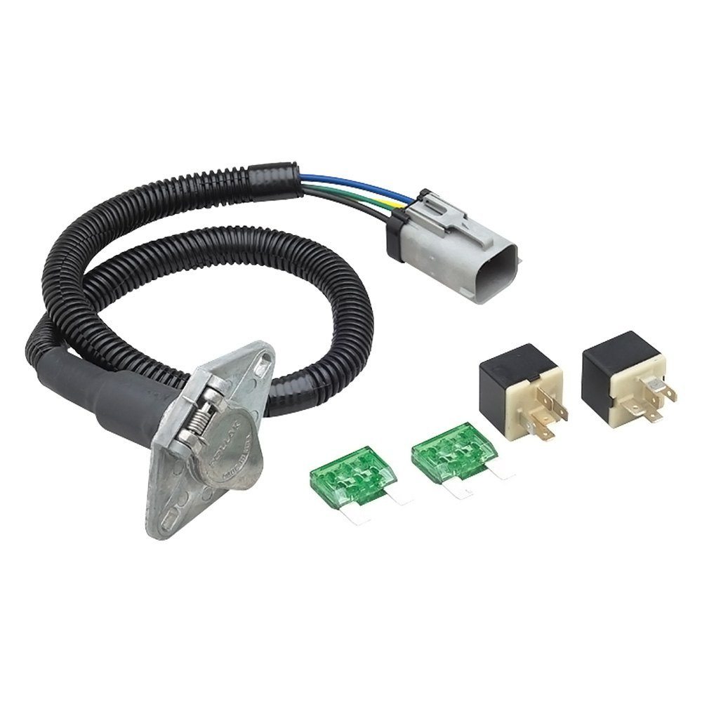 Tow Ready® - 4-Flat OEM to 6 Way 7' Connector Assembly