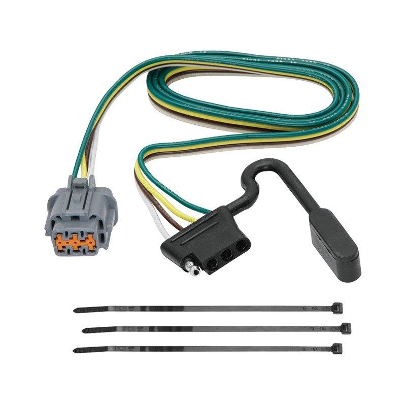 tekonsha 174 nissan xterra 2014 2015 towing wiring harness