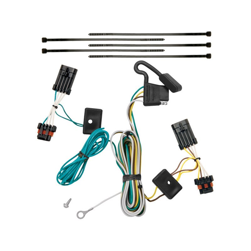 Wiring Diagram 7 Pin Trailer Plug Toyota : Toyota oem trailer wiring harness pin get free