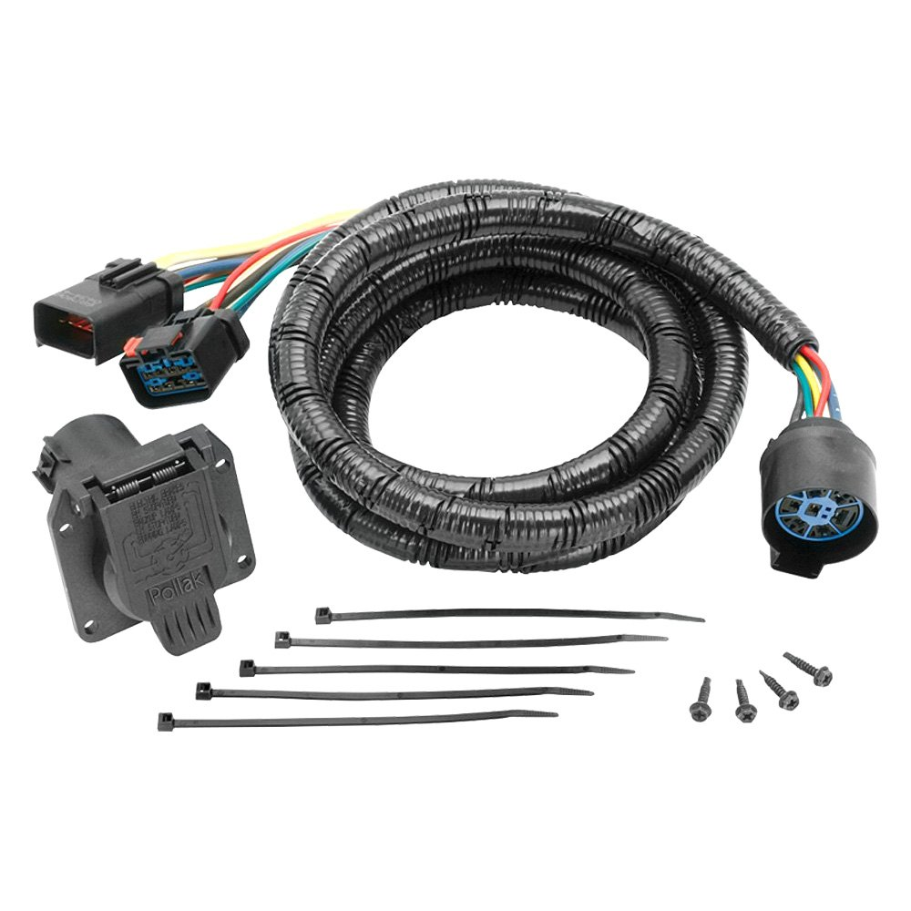 Tow Ready 5th Wheel Harness Wiring Diagram 7 Pin Way Flat Connector
