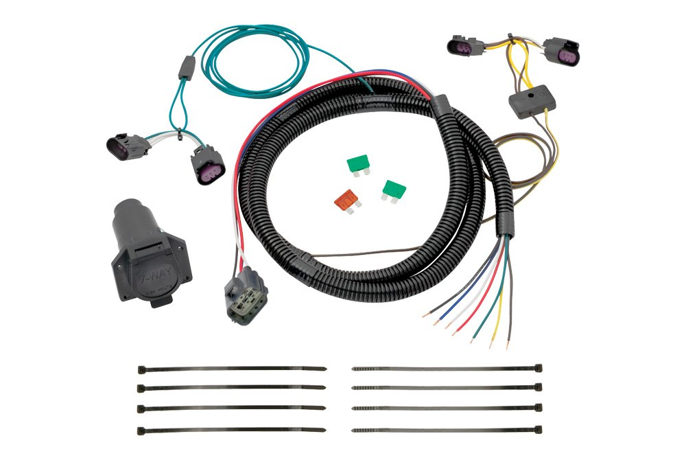 tekonsha chevy traverse 2009 2012 towing wiring harness. Black Bedroom Furniture Sets. Home Design Ideas