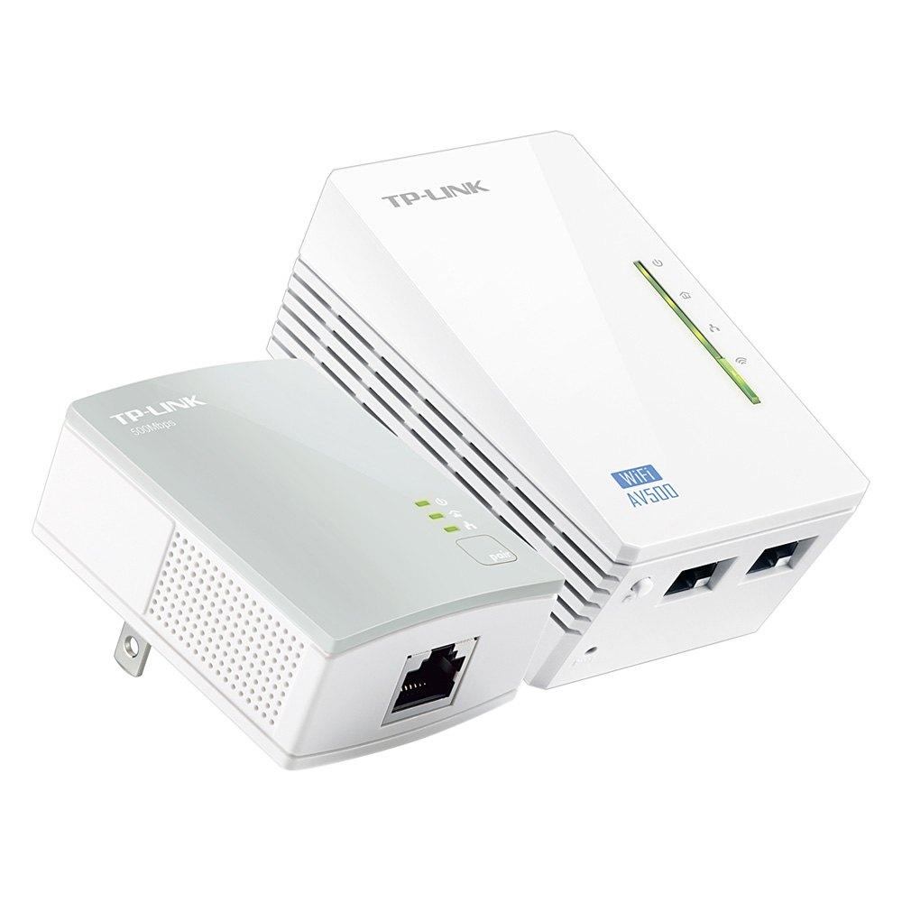 TP-LINK TL-WPA4220 AV500 Powerline Range Extenders - Set ...