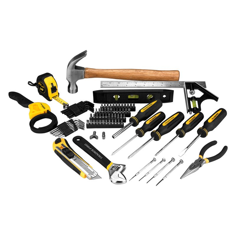 Trades pro 835099 100 pcs home tool set - Household tools ...