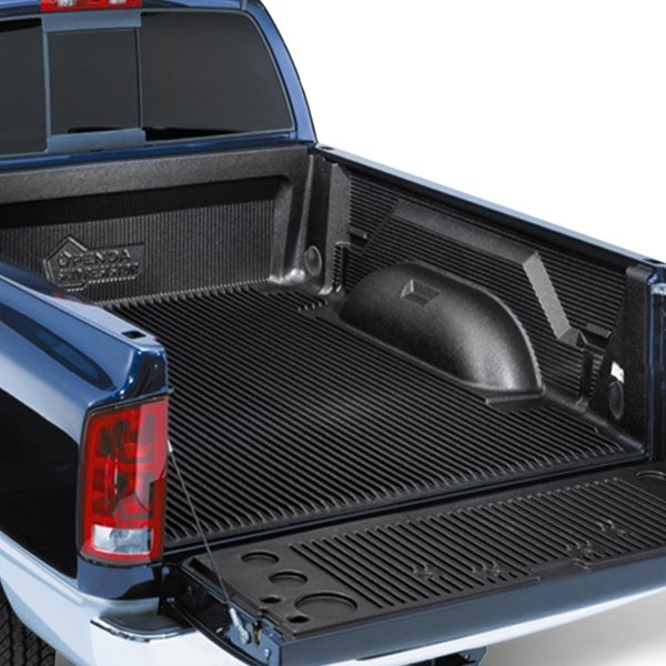 Dodge Ram Bed Mat: Black Under Rail Bed Liner