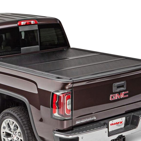 trailfx chevy colorado 2015 2017 hard tri fold tonneau. Black Bedroom Furniture Sets. Home Design Ideas