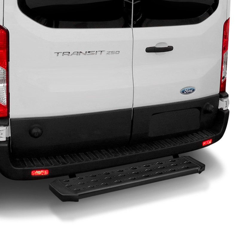 "TrailFX® - Ford Transit 2017 6.5"" Black Running Boards"